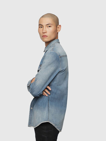 Diesel - D-EAST-P, Blue Jeans - Denim Shirts - Image 3