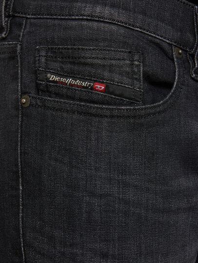 Diesel - D-Luster 009EN, Black/Dark grey - Jeans - Image 3