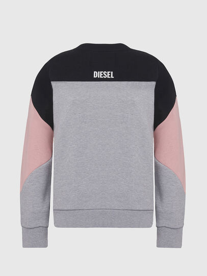 Diesel - UFLT-PHYLOSH, Gray/Black - Sweaters - Image 2
