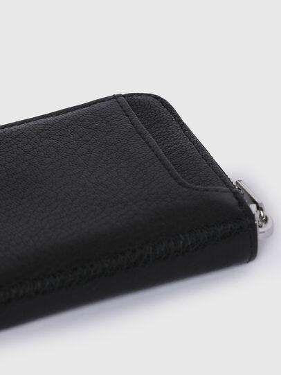 Diesel - CRASSU, Black - Zip-Round Wallets - Image 3