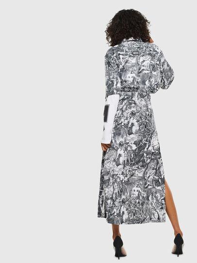 Diesel - O-MOYA-B, Black/White - Skirts - Image 2