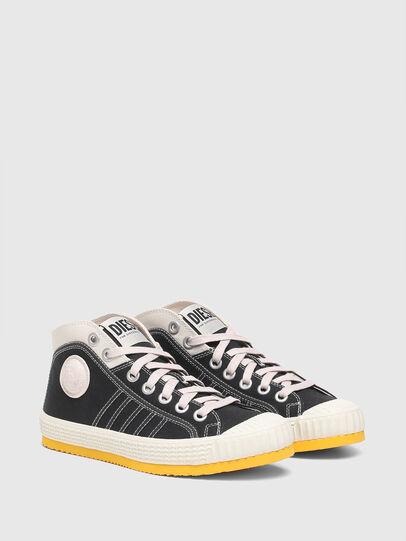 Diesel - S-YUK MC W, Black/Yellow - Sneakers - Image 2