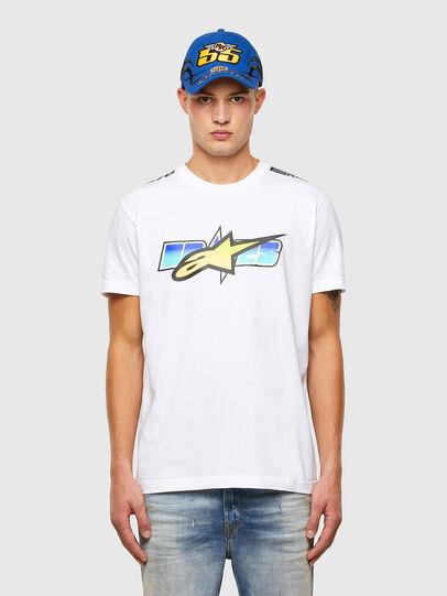 Diesel - ASTARS-T-DIEGOS-B, White - T-Shirts - Image 1