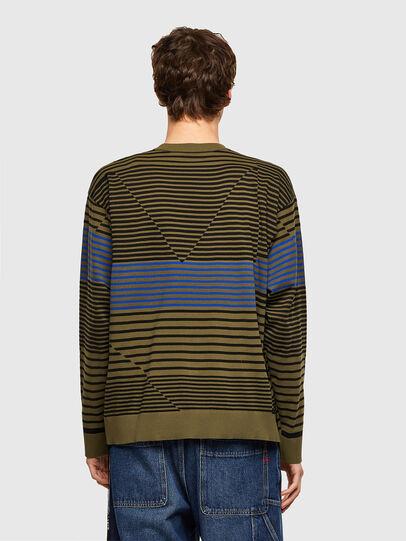 Diesel - K-BALTIC, Blue/Green - Knitwear - Image 2
