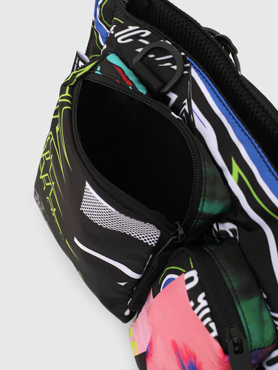 Diesel - WARMY, Black - Crossbody Bags - Image 4
