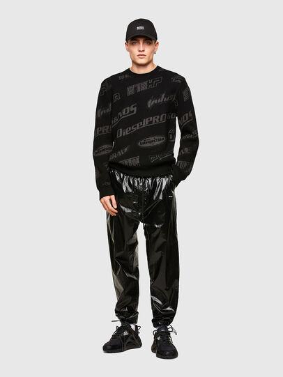 Diesel - K-NICKEL, Black - Knitwear - Image 4
