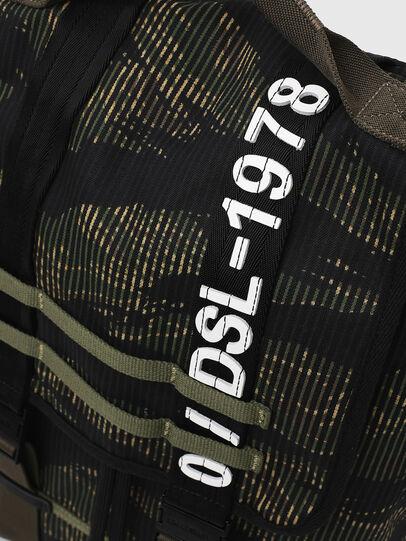 Diesel - VOLPAGO BACK, Green/Black - Backpacks - Image 6