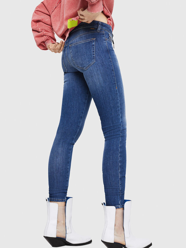 Diesel - Slandy 088AU, Medium blue - Jeans - Image 2