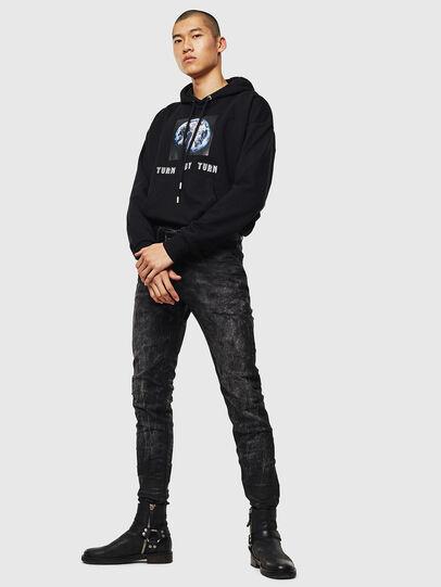 Diesel - S-ALBY-YA, Black - Sweaters - Image 3