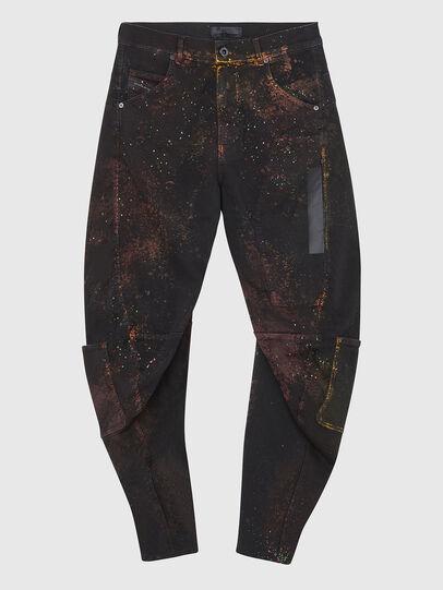 Diesel - TYPE-2018-NE, Black/Dark grey - Jeans - Image 1
