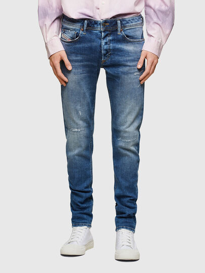 Diesel - Sleenker 009PN, Medium blue - Jeans - Image 1