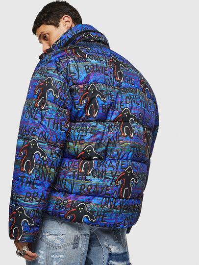 Diesel - W-PIATIG-MONSTER, Blue/Black - Winter Jackets - Image 7