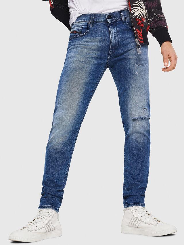 Diesel - D-Strukt 081AQ, Medium blue - Jeans - Image 1