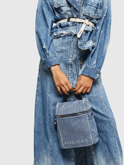Diesel - ERACLEA II, Blue Jeans - Backpacks - Image 8