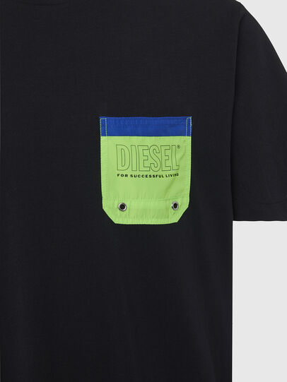 Diesel - BMOWT-DIEGO, Black/Green - Out of water - Image 3