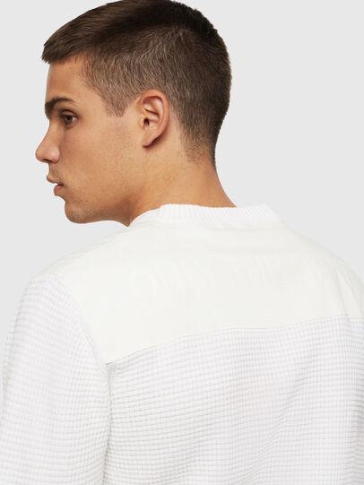 Diesel - K-LESTER, White - Knitwear - Image 6