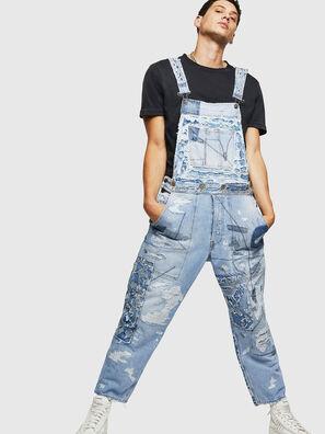 D-HARU-SY, Blue Jeans - Jumpsuits