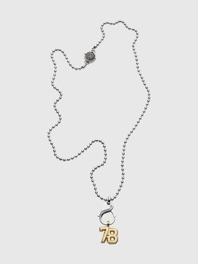 Diesel - DX1229, Silver - Necklaces - Image 1