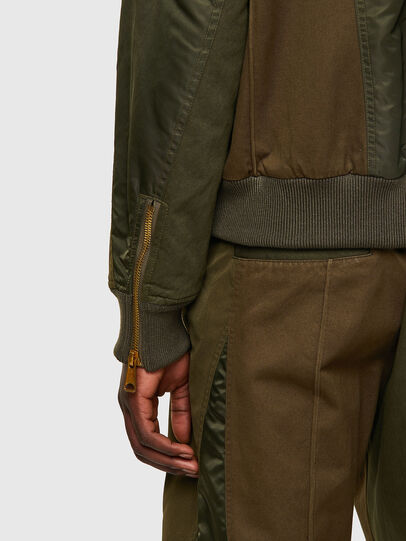Diesel - J-BASTYAN, Olive Green - Jackets - Image 4