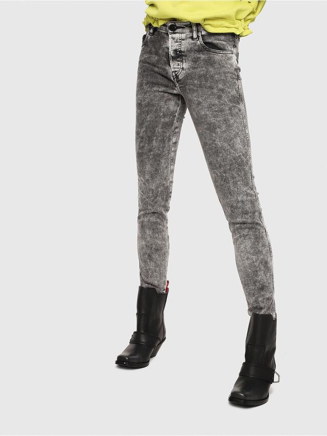 Diesel - Babhila 069FK, Light Grey - Jeans - Image 1