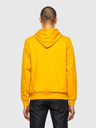 Diesel - S-GIRK-HOOD-K22, Yellow - Sweaters - Image 2