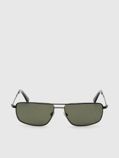 Diesel - DL0308, Black/Grey - Sunglasses - Image 1
