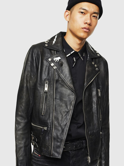 Diesel - L-GOTIV-A,  - Leather jackets - Image 6