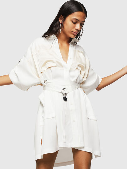 Diesel - D-TIEP, White - Dresses - Image 5