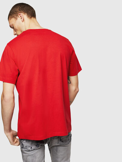 Diesel - T-JUST-B1, Fire Red - T-Shirts - Image 2