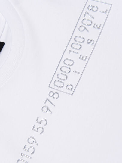 Diesel - TDIEGOSLITSJ6, White - T-shirts and Tops - Image 3