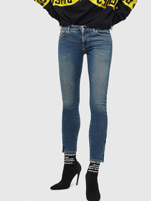 Slandy Zip 083AL, Medium blue - Jeans