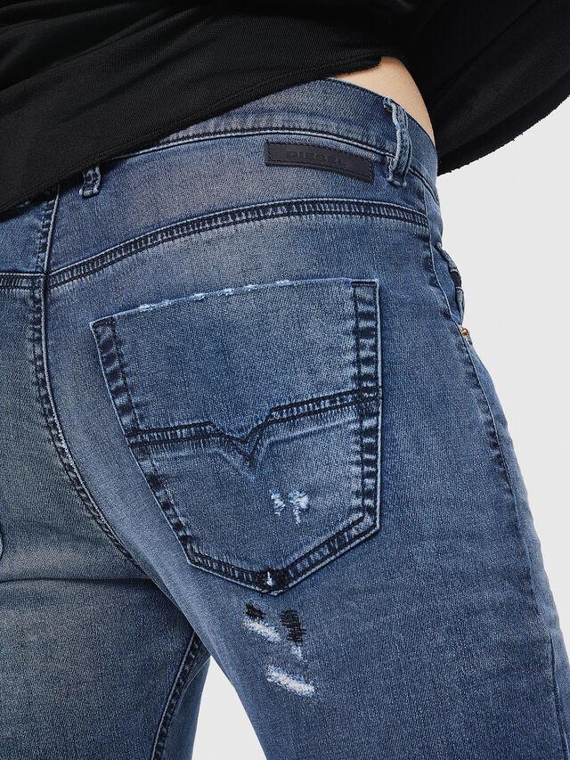 Diesel - Krailey JoggJeans 069HA, Medium blue - Jeans - Image 5