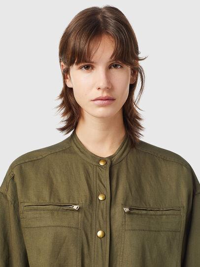 Diesel - D-ANGELICA, Olive Green - Dresses - Image 4