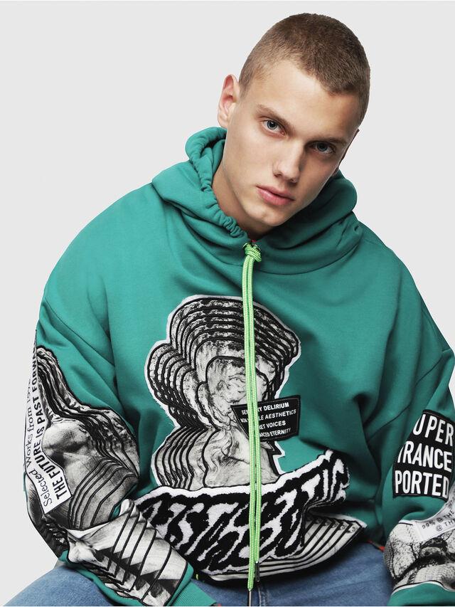 Diesel - S-JACK-YA, Water Green - Sweaters - Image 3