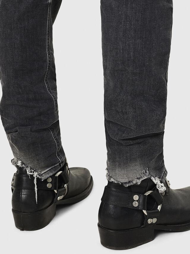 Diesel - D-Vider 069DM, Black/Dark grey - Jeans - Image 5