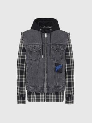J-RUBEN, Black/White - Jackets