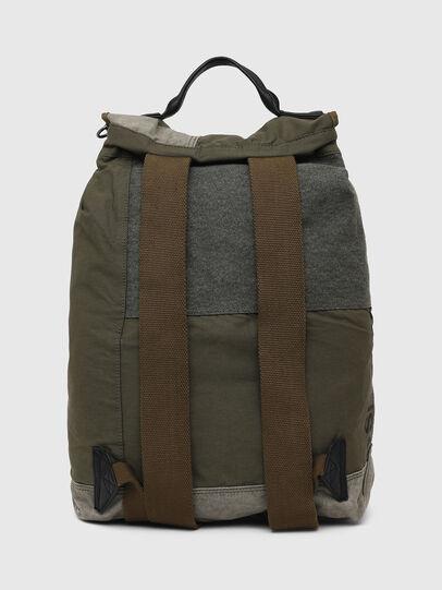 Diesel - VOLPAGO BACK ARMY, Olive Green - Backpacks - Image 2