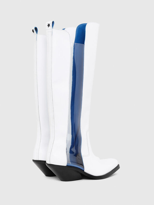 Diesel - D-GIUDECCA MBT, White - Boots - Image 3