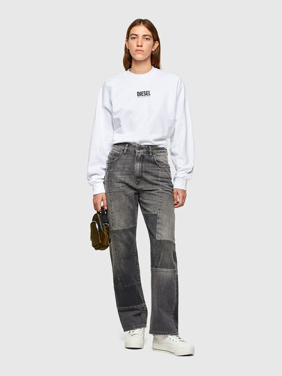 Diesel - F-ANG-SMALLOGO, White - Sweaters - Image 4