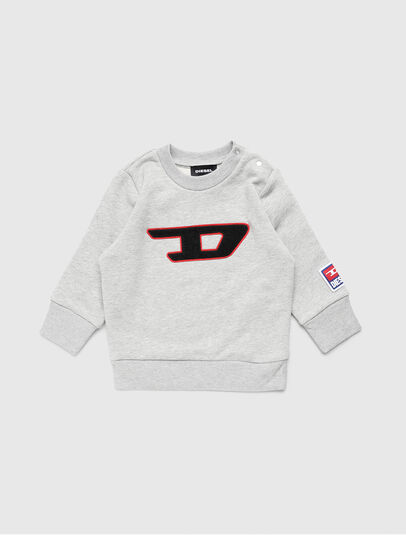 Diesel - SCREWDIVISIONB-D, Grey - Sweaters - Image 1