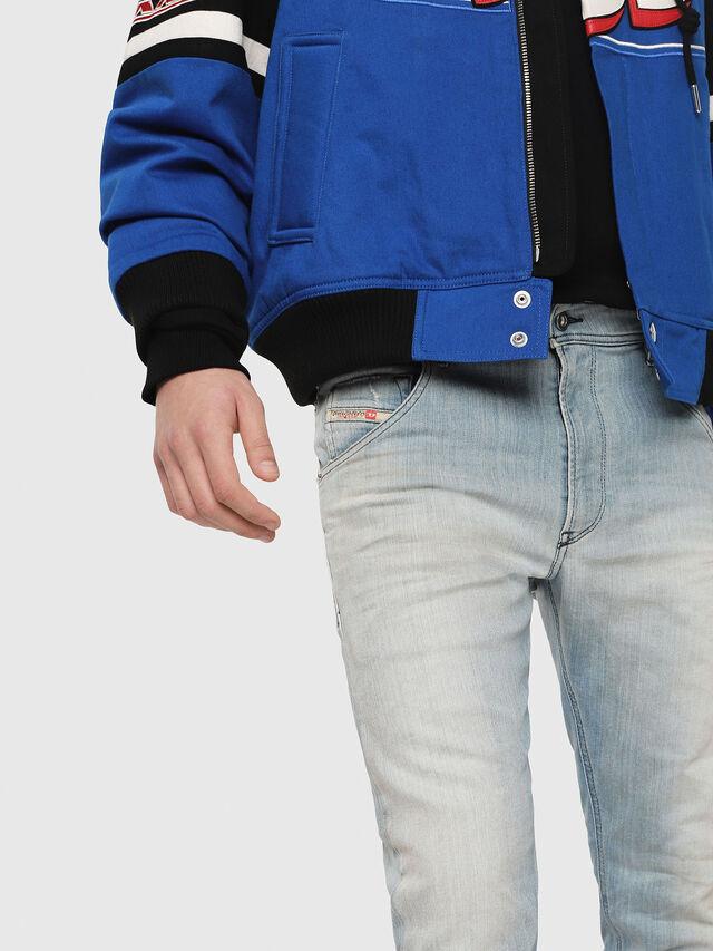 Diesel - Krooley JoggJeans 087AB, Medium blue - Jeans - Image 3