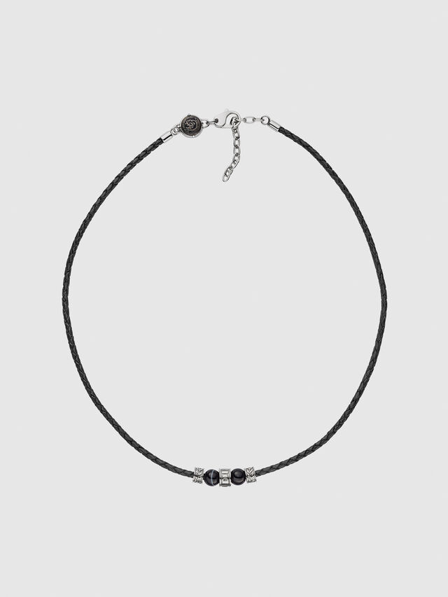 Diesel - DX1107, Black - Necklaces - Image 1