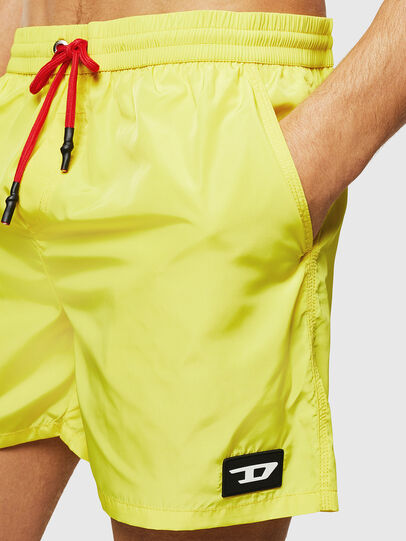 Diesel - BMBX-CAYBAY, Yellow - Swim shorts - Image 3