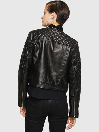 Diesel - LIVIA,  - Leather jackets - Image 2