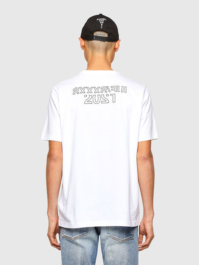 Diesel - CL-T-JUST-O1, White - T-Shirts - Image 3