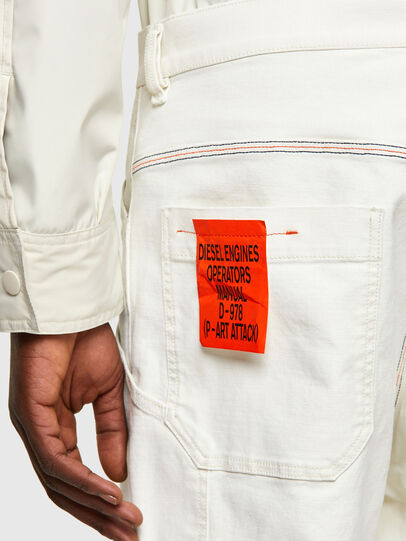 Diesel - D-Franky 009ZJ, White - Jeans - Image 4