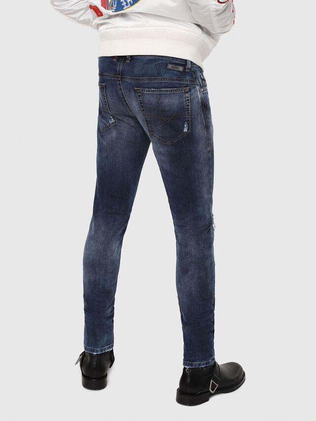 Diesel - Thommer JoggJeans 069AA, Dark Blue - Jeans - Image 2