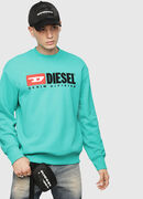 S-CREW-DIVISION, Water Green - Sweaters
