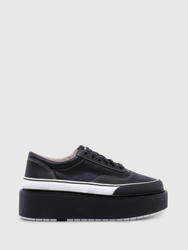 Diesel - H-SCIROCCO LOW, Black/White - Sneakers - Image 1