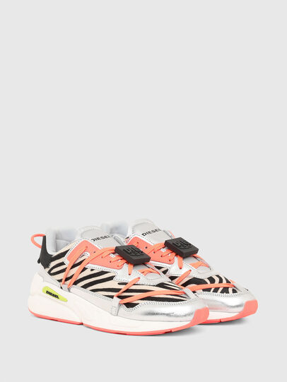 Diesel - S-SERENDIPITY LC EVO, White/Pink - Sneakers - Image 2